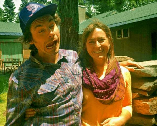 Image of Caption: Bonnie Dupree kids Karl and Hannah