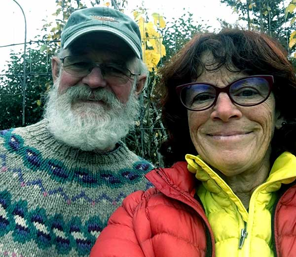 Image of Caption: Bonnie Dupree with her husband Atz Kilcher