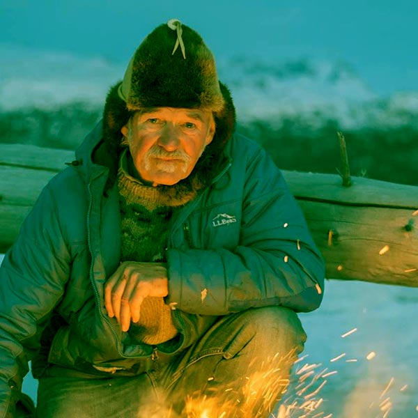 Image of Caption: Atz Kilcher from the TV show, Alaska: The Last Frontier