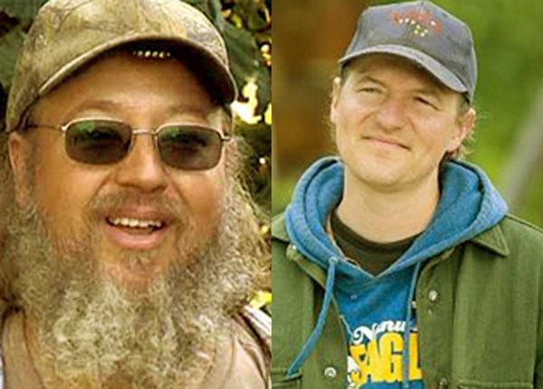 Image of Caption: Jewel Kilcher brothers Shane Kilcher and Atz Lee Kilcher.