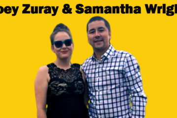 Image of Joey Zuray is Married to Long Time Girlfriend Samantha Wright.