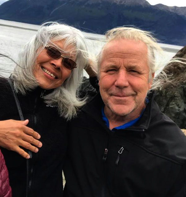 Image of Stan Zuray with his wife Kathleen