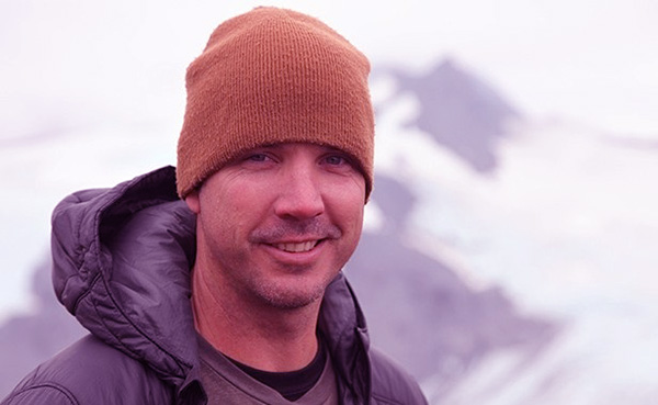 Image of Dustin Hurt from the TV reality show, Gold Rush white water