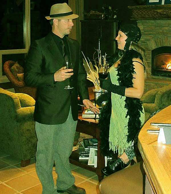 Image of Dustin Hurt with wife Arin Alhum Hanson