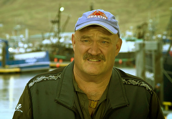 Image of Keith Colburn from Deadliest Catch had a spinal cord infection
