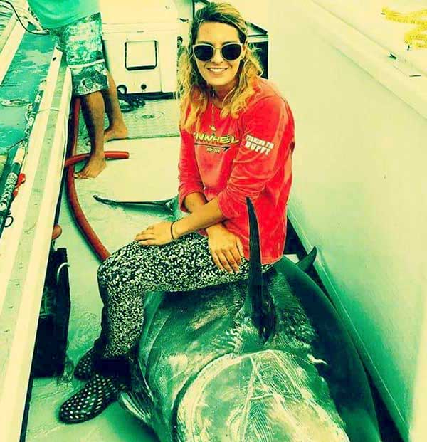 Image of Wicked Tuna Outer Banks cast Marissa McLaughlin net worth
