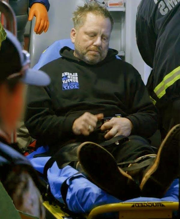 Image of Norman Hansen from Deadliest Catch had Seizure