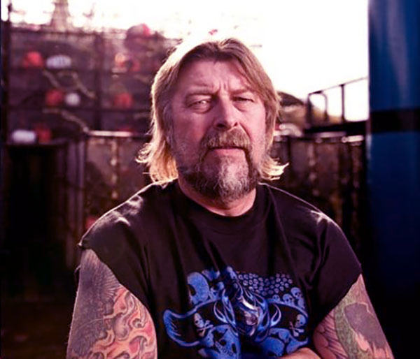Image of Phil Harris from Deadliest Catch died on 9th of February 2010 due to stroke