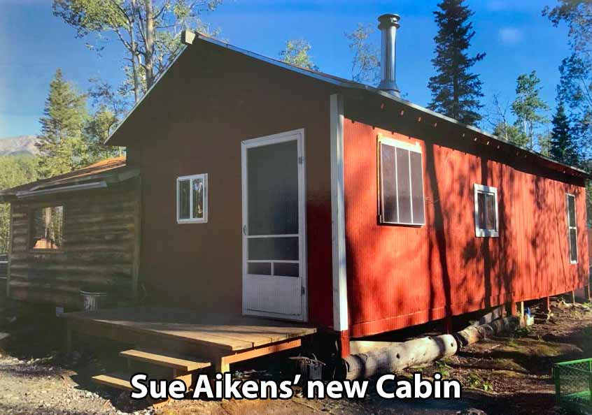 Photo of new Cabin of Sue Aikens.